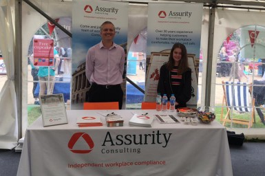 Picture of our team at University of Sussex Careers Fair